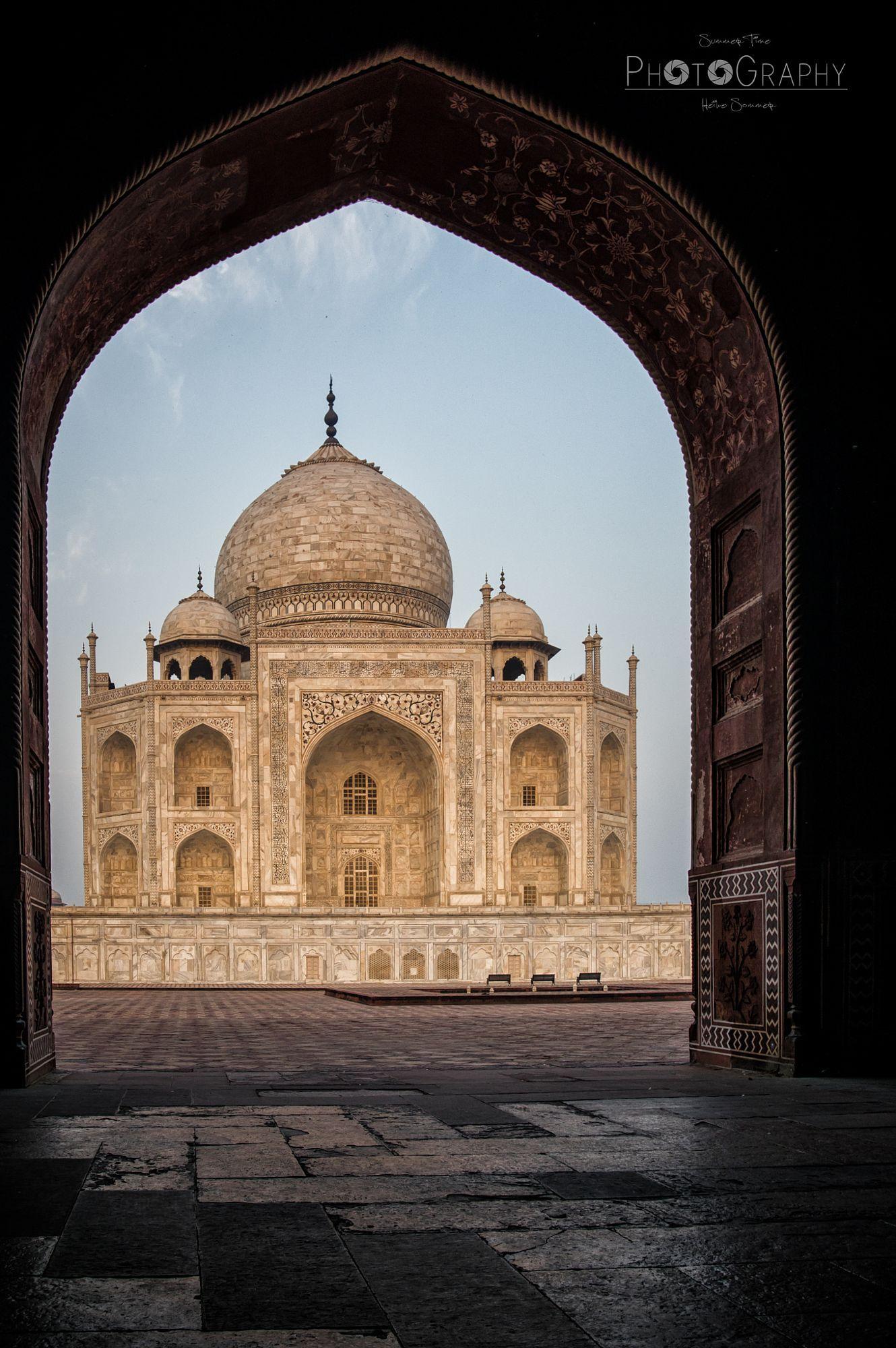 Amazing Taj II  Travel photo by HeikeSommer-SummerTime http://rarme.com/?F9gZi