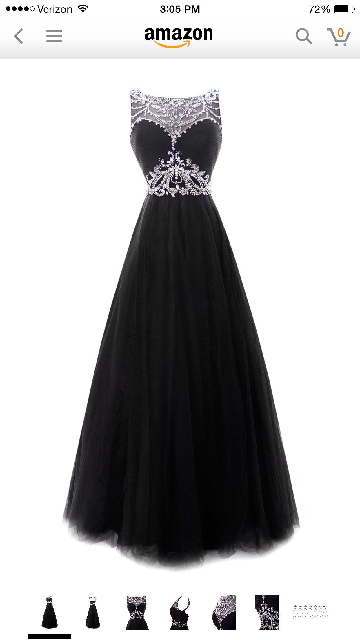 Pretty long black sparkly prom dress prom pinterest prom