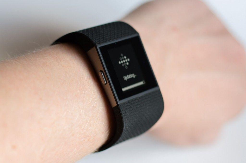 Fitbit Surge - Update der Firmware