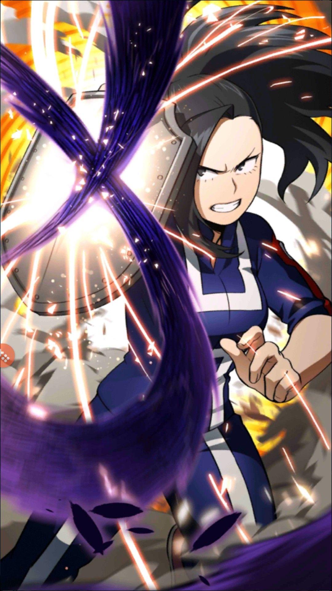 My Hero Academia Momo Yaoyorozu Wallpaper