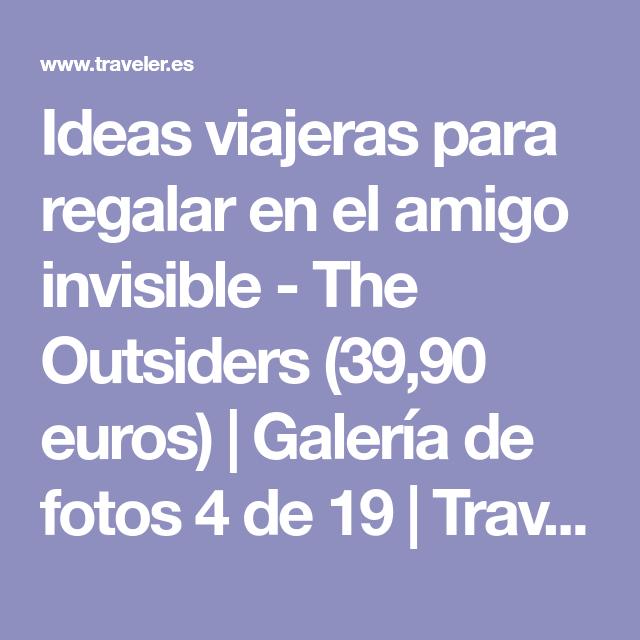Ideas viajeras para regalar en el amigo invisible