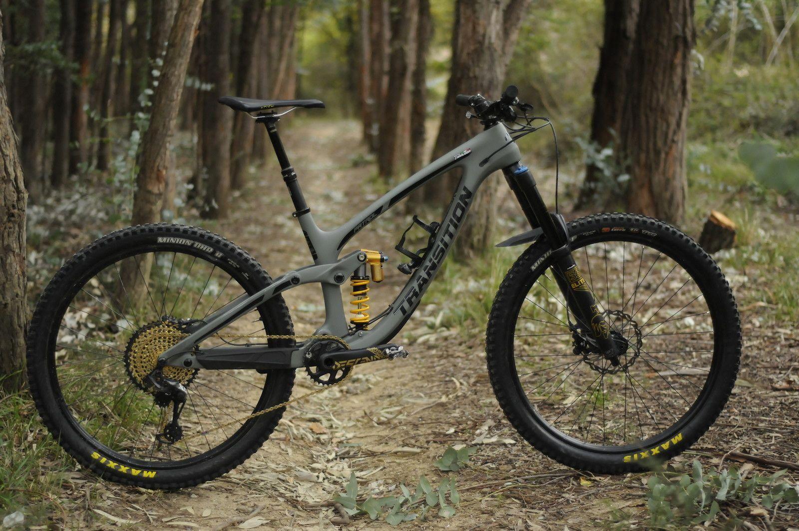 9672044898a Transition Patrol Carbon 2019 - bubbaz's Bike Check - Vital MTB #roadbike