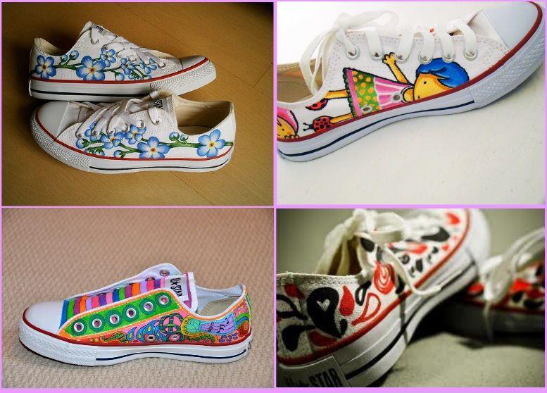 ab5a71c9af54 12 ideias para customizar sapatos