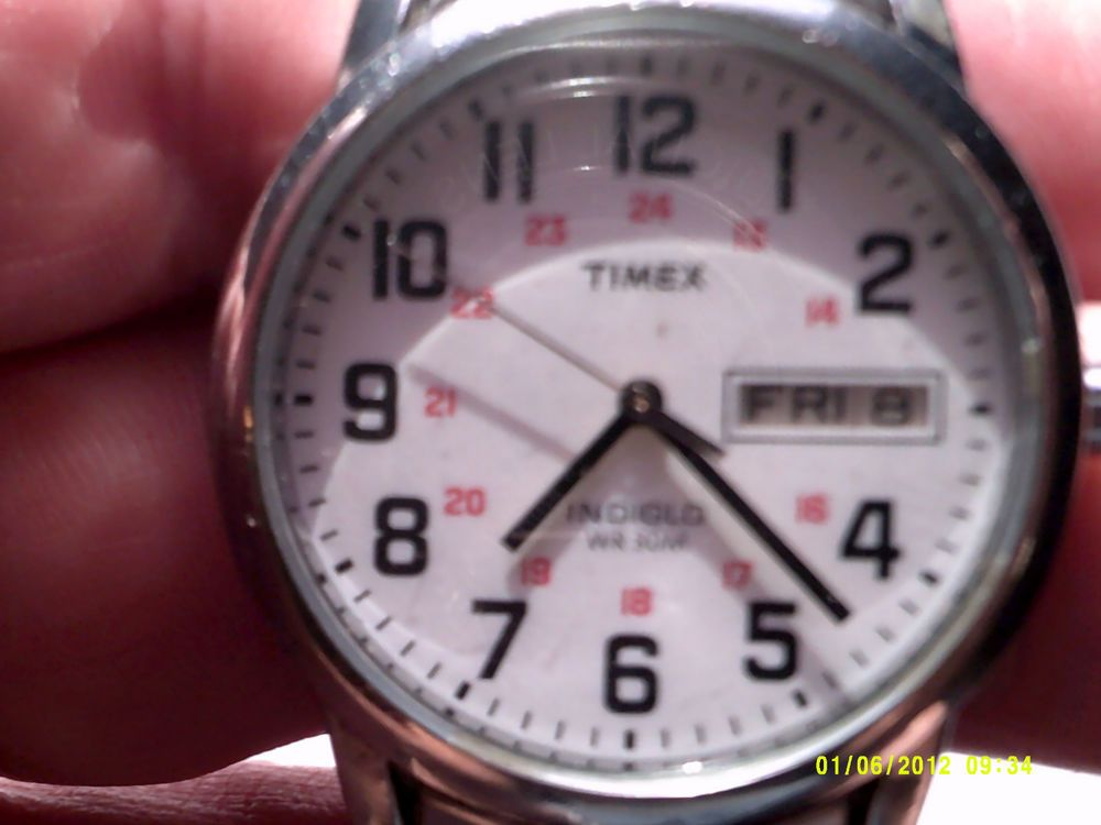 VINTAGE TIMEX INDIGLO MENS WATCH  #TIMEX #Casual