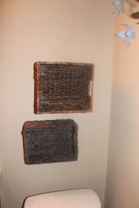 A Great Tutorial On How To Hang Baskets On Your Walls For