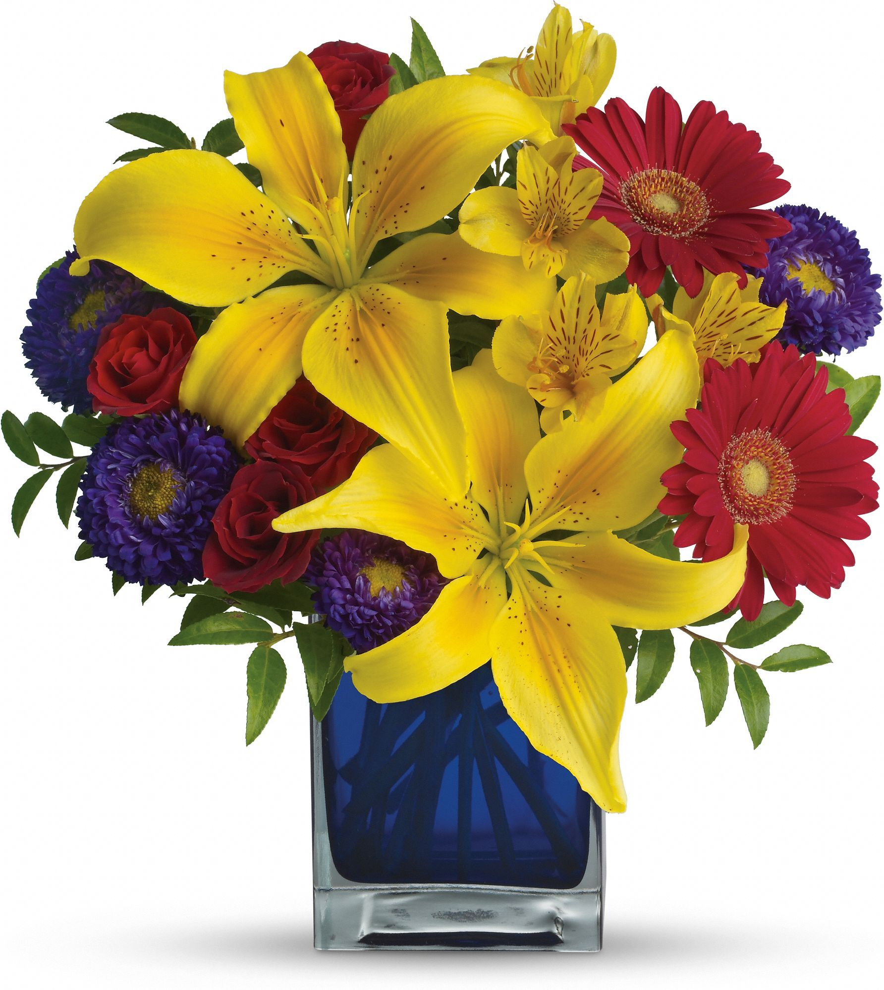 Teleflora's Blue Caribbean Save 25% On This Bouquet And