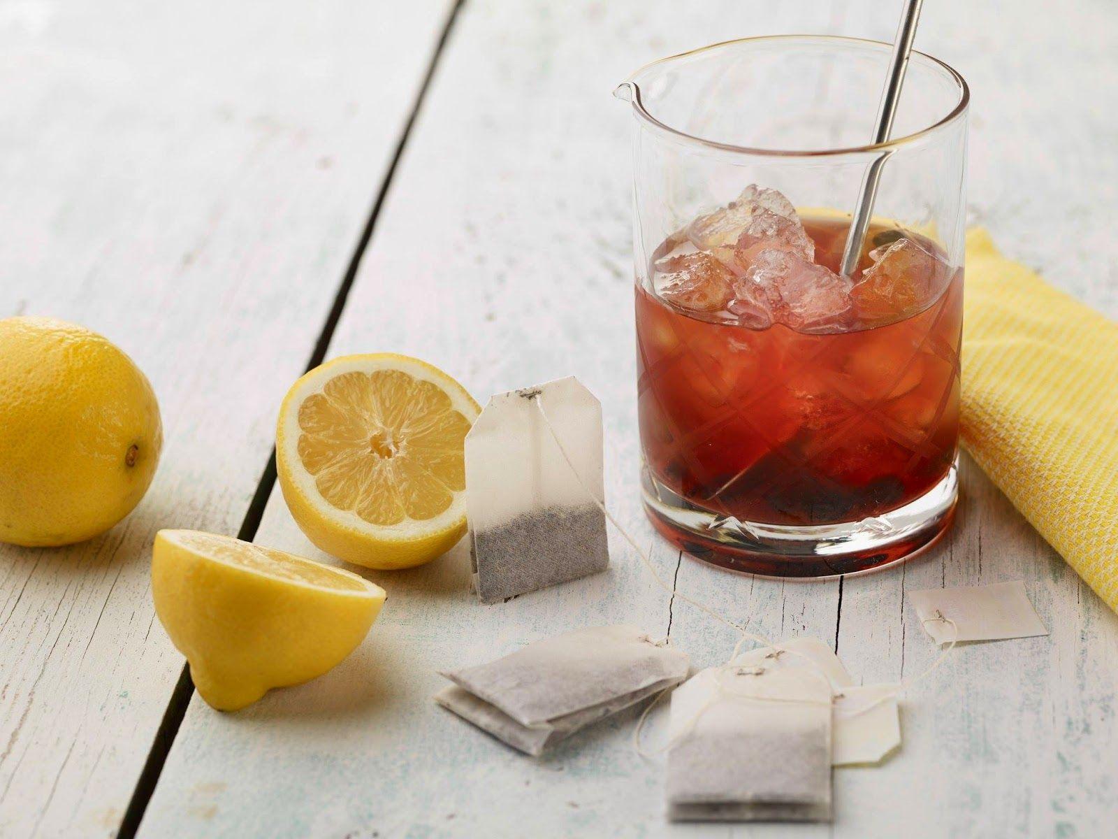 Isi Bimby: Iced tea de chá preto e limão