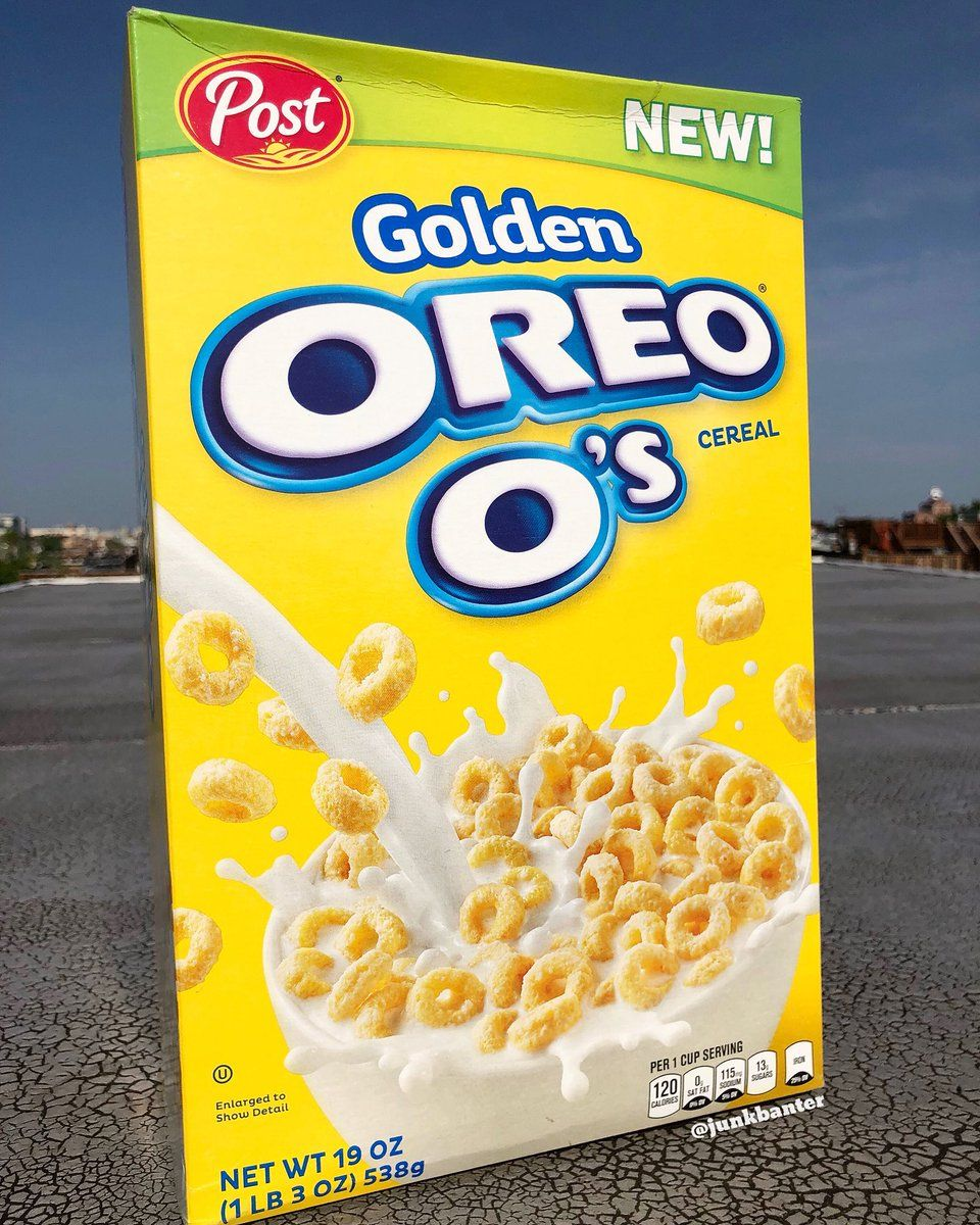 Post Golden Oreo O's Cereal In 2019