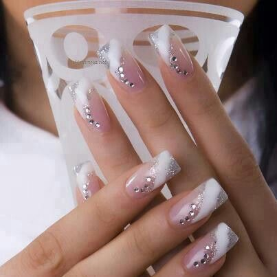 Wedding Nail Nails Pinterest Weddings Beauty Nails And Nail Nail