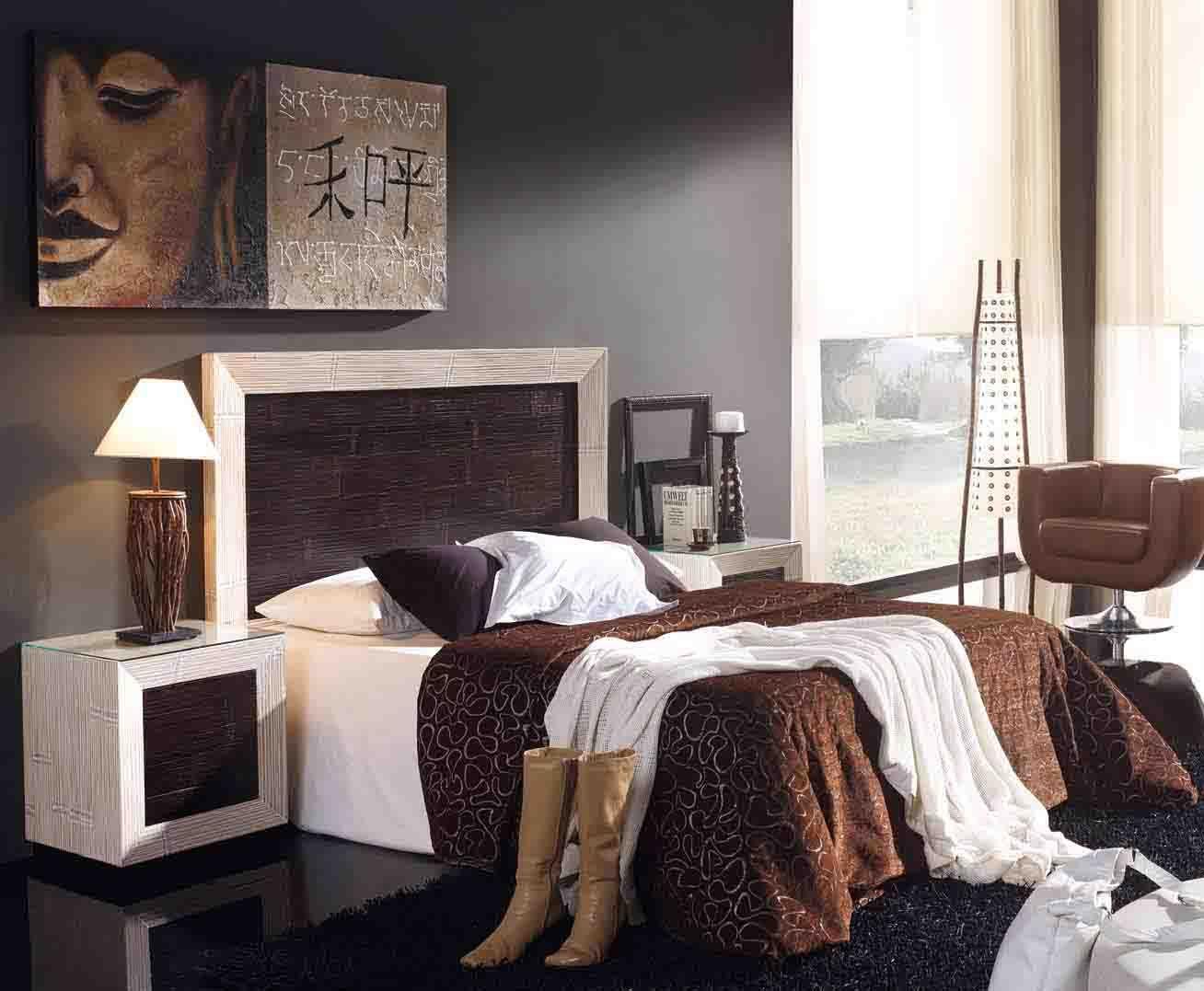 Kopfende soho aus bambus dekoration beltr n ihr webshop f r kopfteile aus holz schlafzimmer - Schlafzimmer afrika style ...