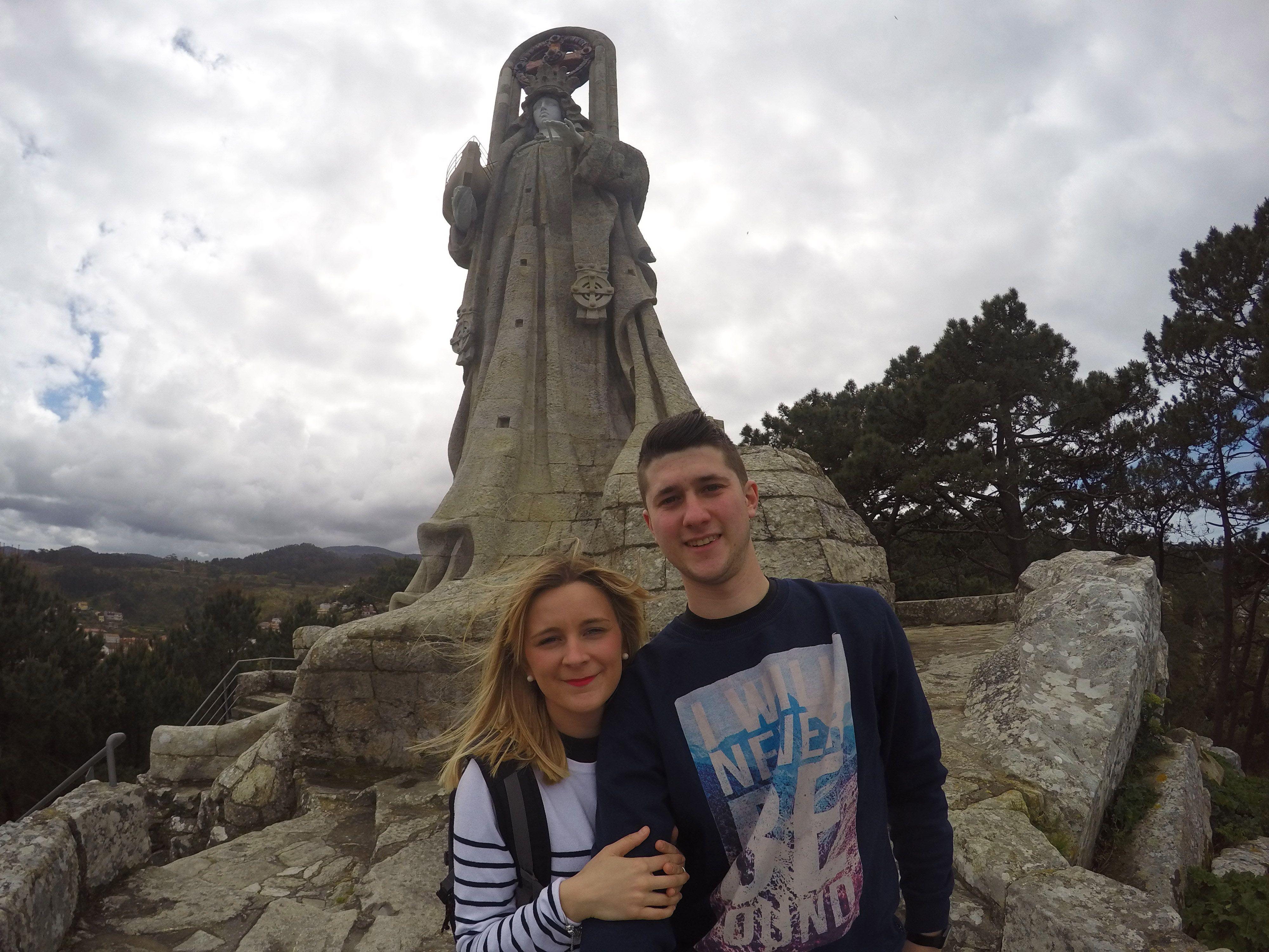 Virxe da Rocha, Ruta Rías Baixas, Baiona (Pontevedra)
