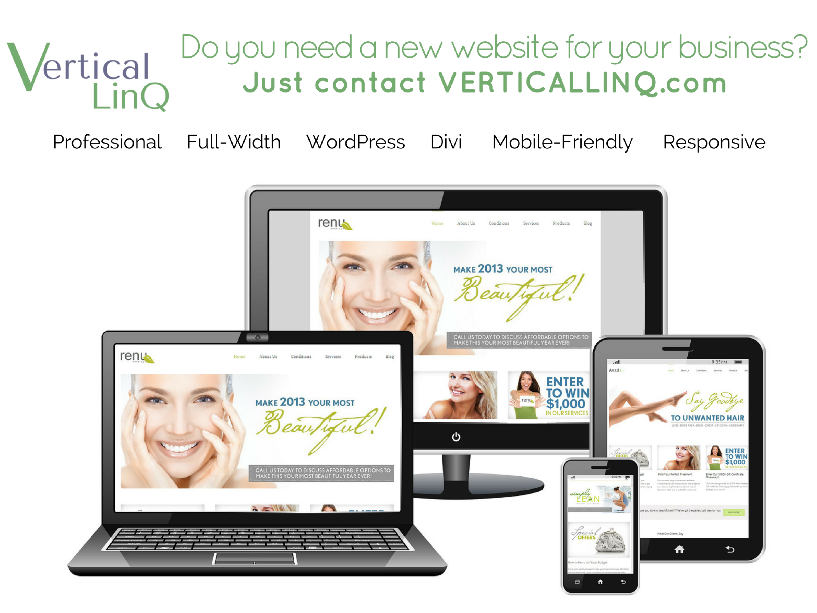 Jeannie Meyer Owner Vertical Linq Working With You To Create A Professional Well Designed We Online Website Design Web Hosting Design Web Design Company