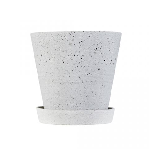 HAY - Flowerpot - urtepotte Flowerpots potter grå