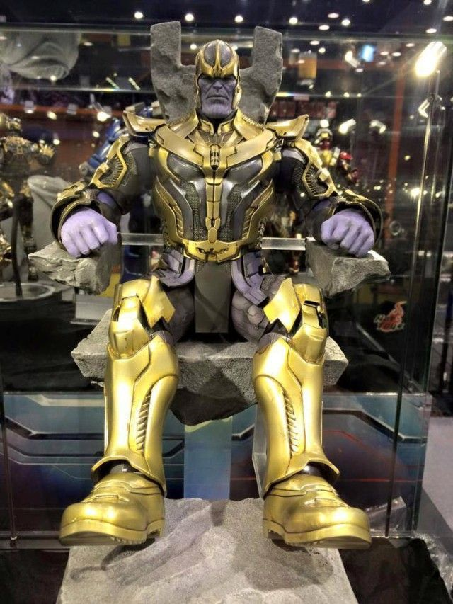 Hot Toys Thanos Figure at Toy Soul 2014