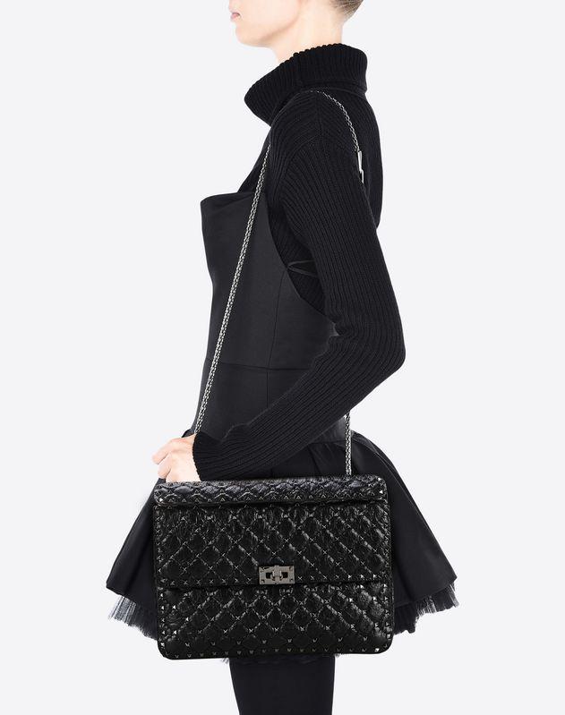 f2fa64ac78 Valentino Garavani Rockstud Spike bag Women 45302902TS | Bags ...
