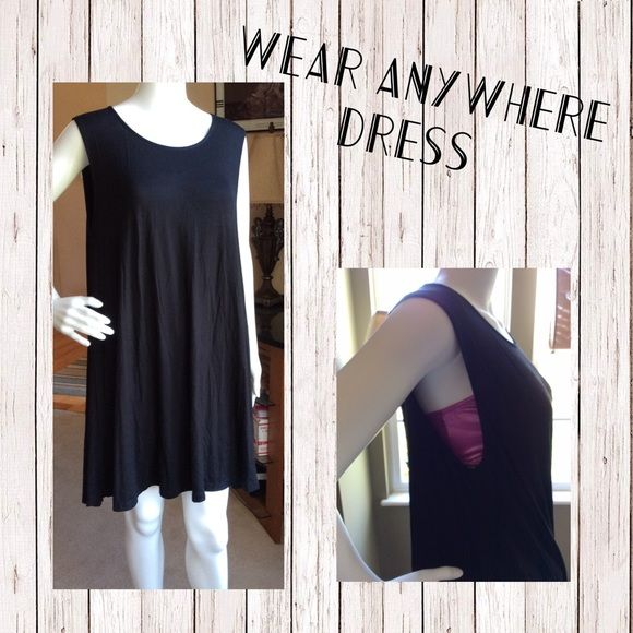 Black tank dress perfect for summer Simple black tank dress. Perfect for summer Dresses