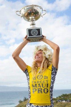 Stephanie Gilmore 2014 Maui Pro and 6 time ASP World