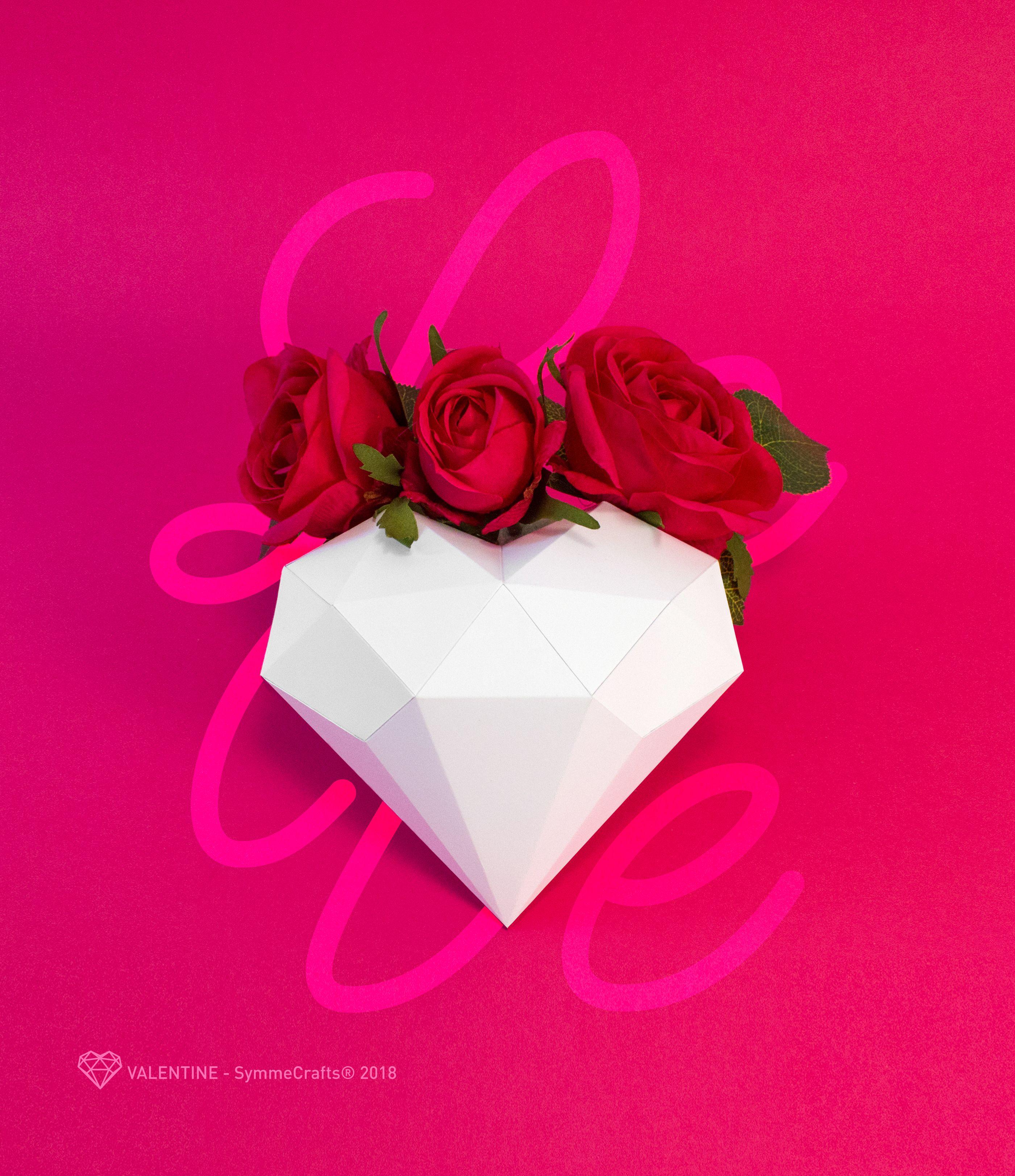 Construye esta escultura de papel simplemente cortando doblando y enamora con un papercraft e impresiona con un regalo realizado con tus propias manos valentine est hecho con creatividad y originalidad para jeuxipadfo Images
