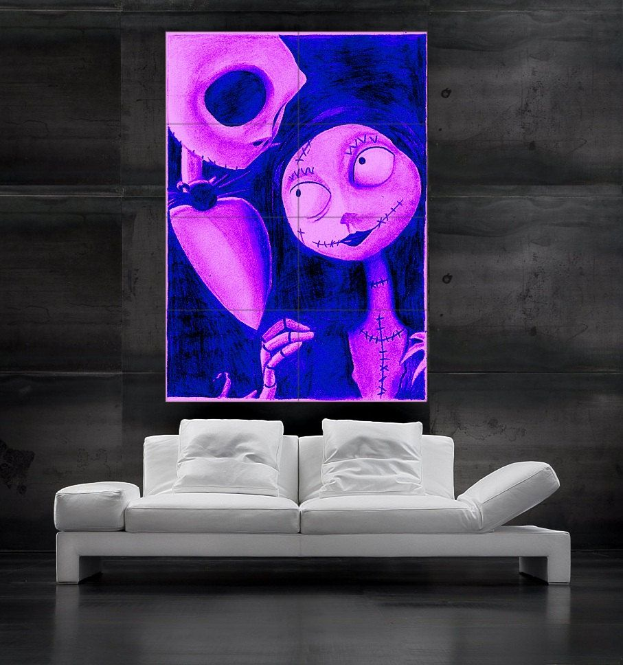 Another possible Livingroom decoration Nightmare before christmas ...