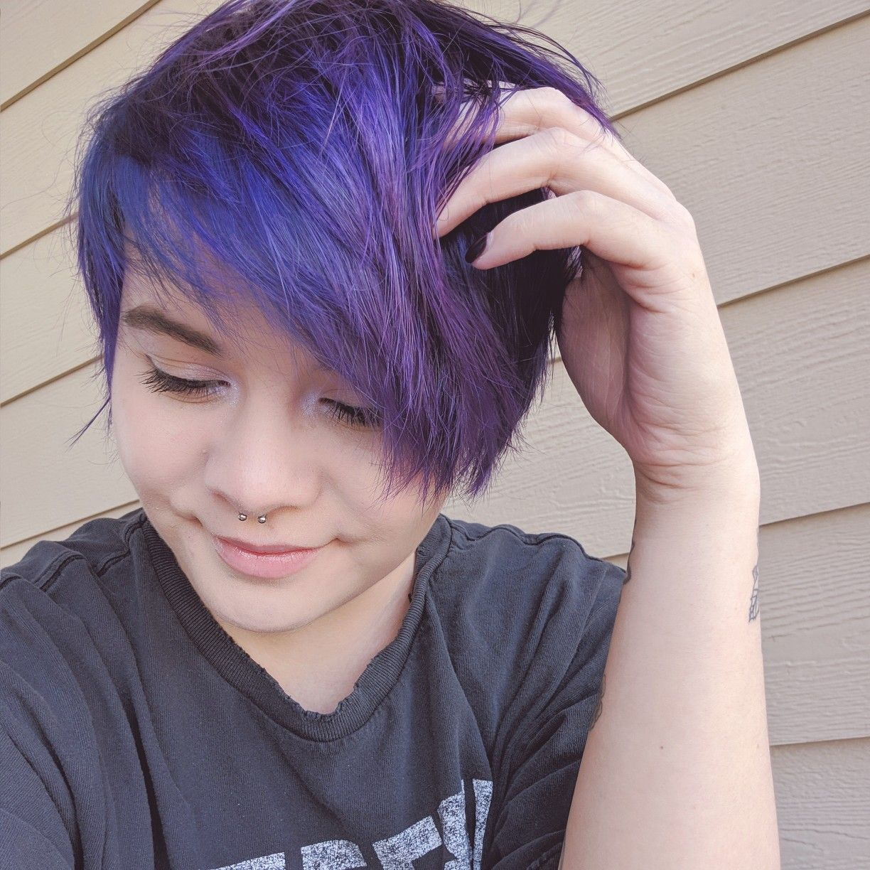 Using Arctic Fox Hair Color In Purple Rain There S A