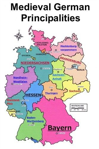 Midieval German Principalities Regintrude Of Austrasia End