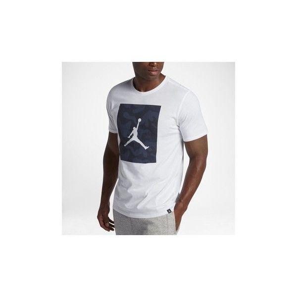 f86736431e2c Nike Jordan Sportswear Jumpman P51 Camo 925809 100 T shirt ( 85) ❤ liked on