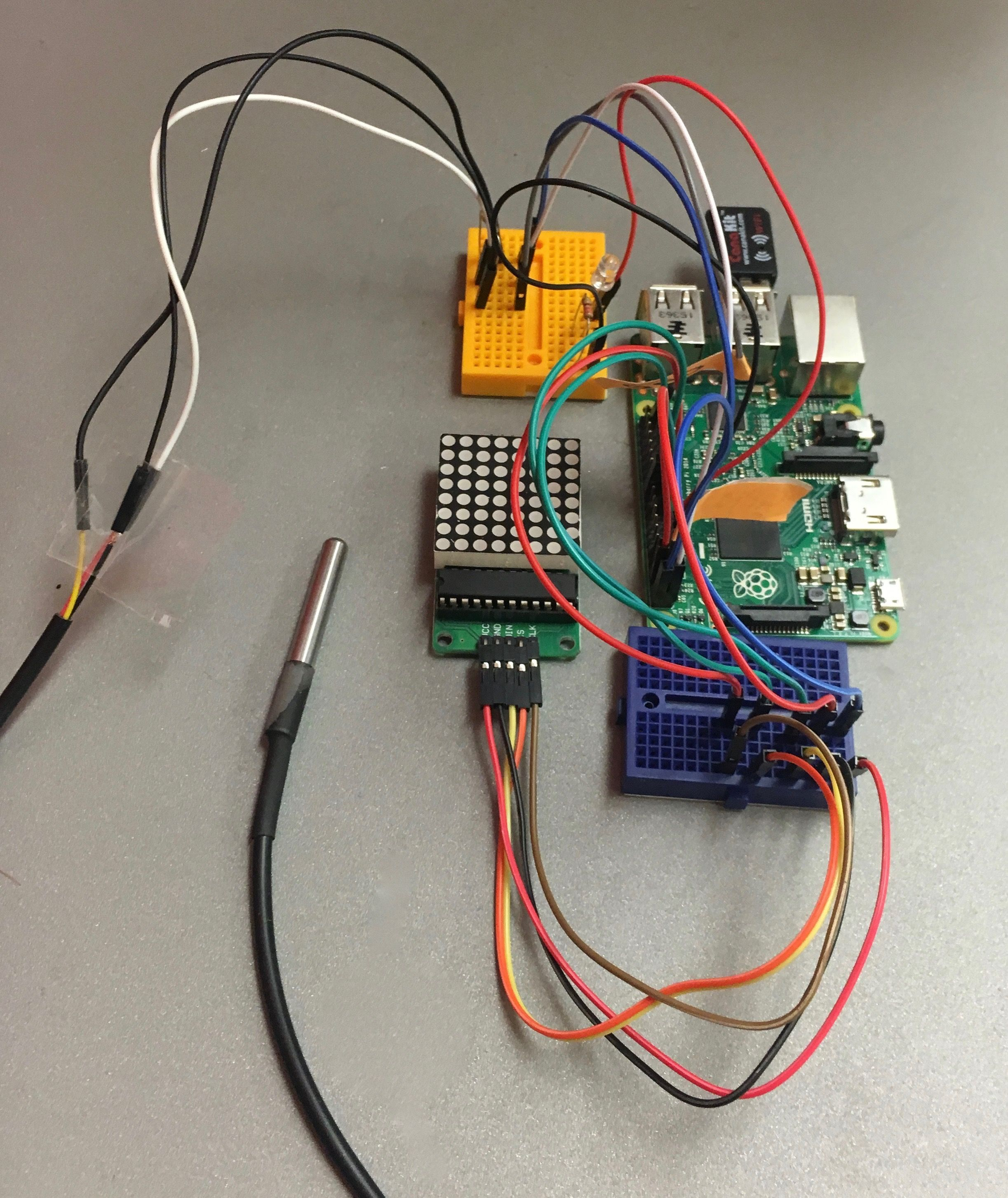 fully wired smart home hardware | raspberry pi thermostat | pinterest, Wiring diagram