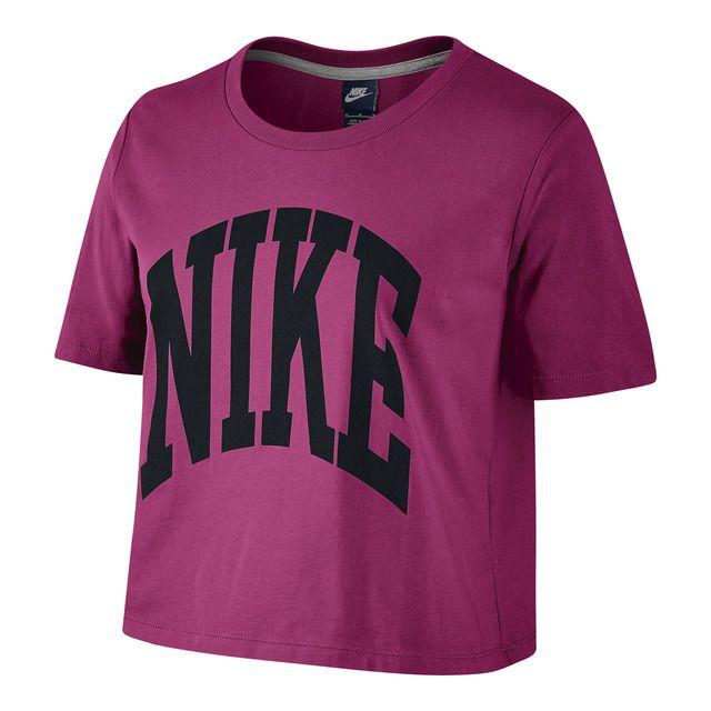 Camiseta de mujer Prep Cropped Nike   Ropa nike, Camisetas ...