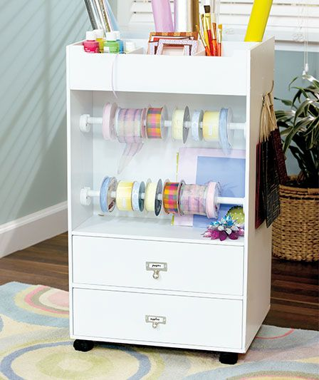 Portable Craft Amp Giftwrap Cart 34 95 Organization