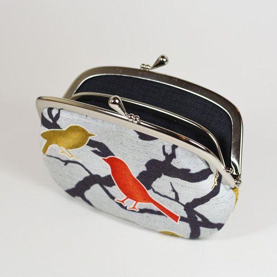 Cotton long wallet, cotton wallet, fasion wallet, women wallet, long ...