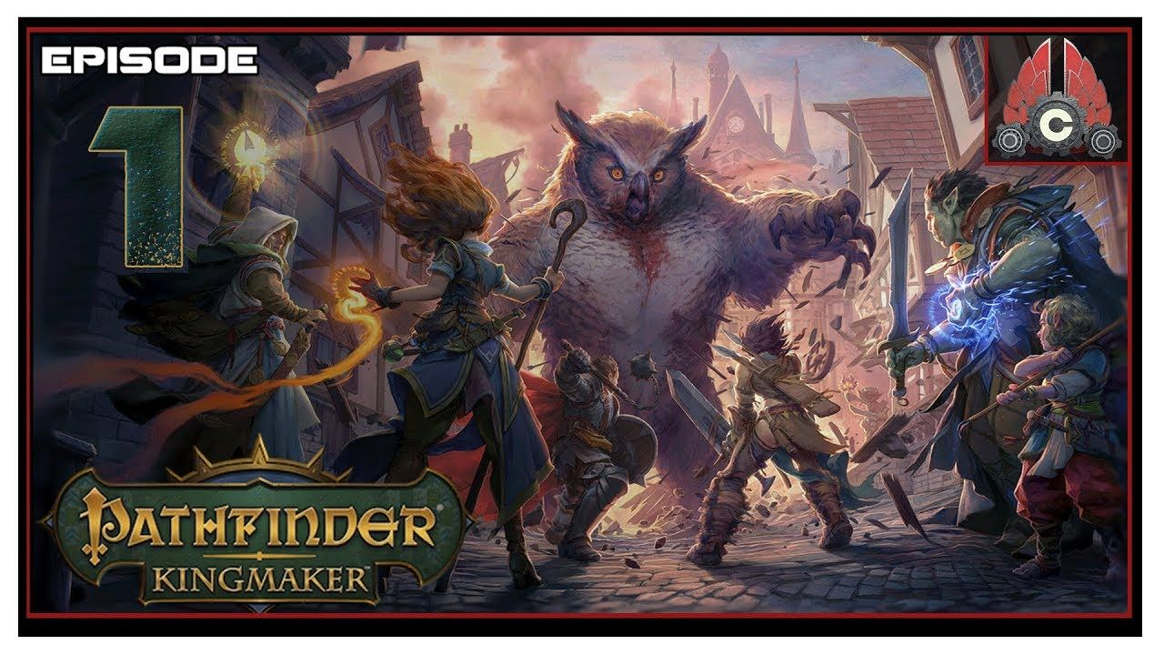 Let's Play Pathfinder: Kingmaker (Fresh Run) With