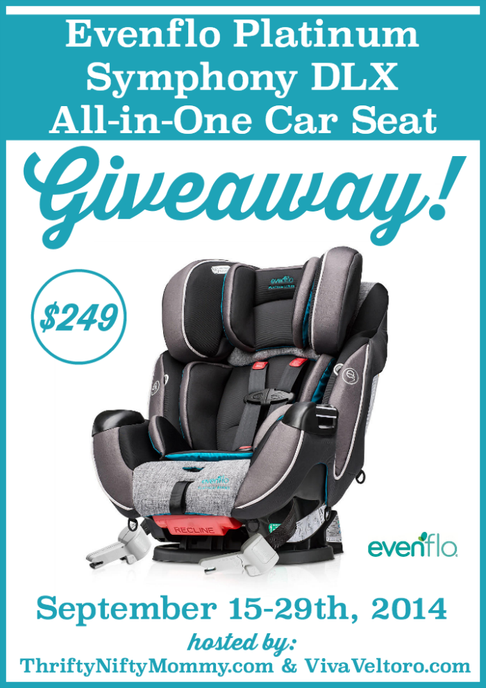 Evenflo Platinum Symphony DLX All-in-One Car Seat Giveaway! #MyWhy ...