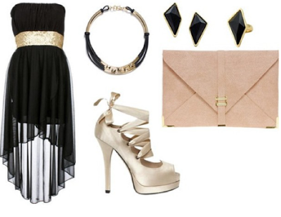 Zapatos para usar con vestidos de fiesta cortos