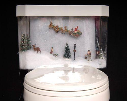 Toilettes insolites - décos de WC étranges - http://www.2tout2rien ...