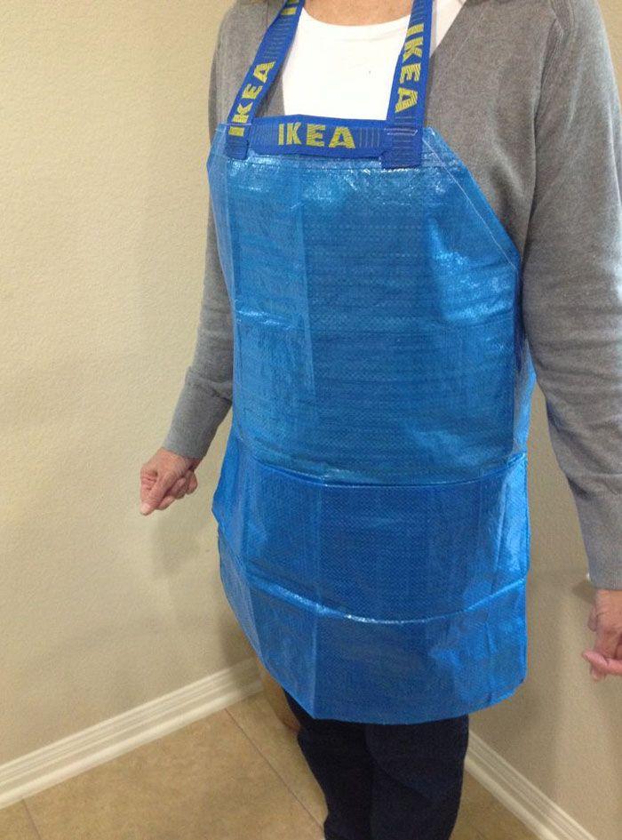 13 idées pour transformer le sac IKEA en vêtements et