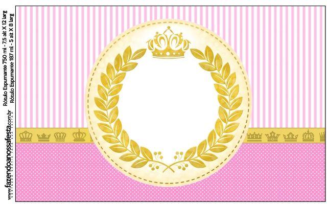 Kit Completo Digital Coroa de Princesa! | Princesas ...