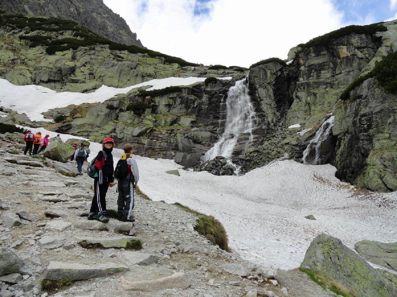 TRAVEL BROADENS THE MIND: Slovakia - High Tatras - Waterfall Skok