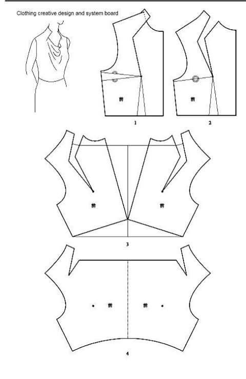 Linda gola   patrones faciles   Pinterest   Costura, Patrones y Molde