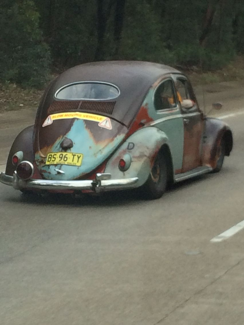 VW Beetle. Spotto on the way into Sydney.   VW Nationals 2015 Sydney ...