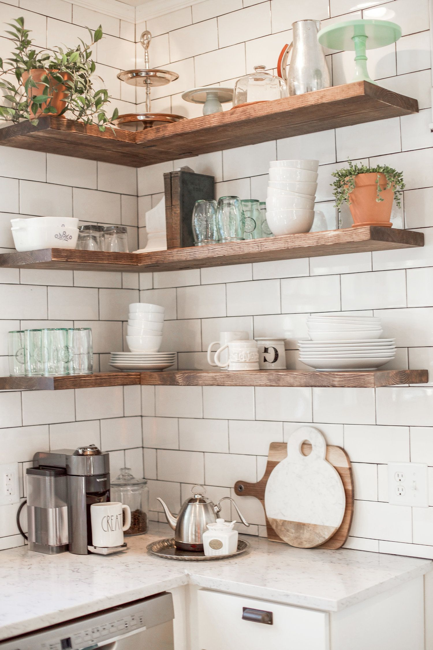 Our Restored Farmhouse Kitchen Reveal | Beach kitchen decor ...