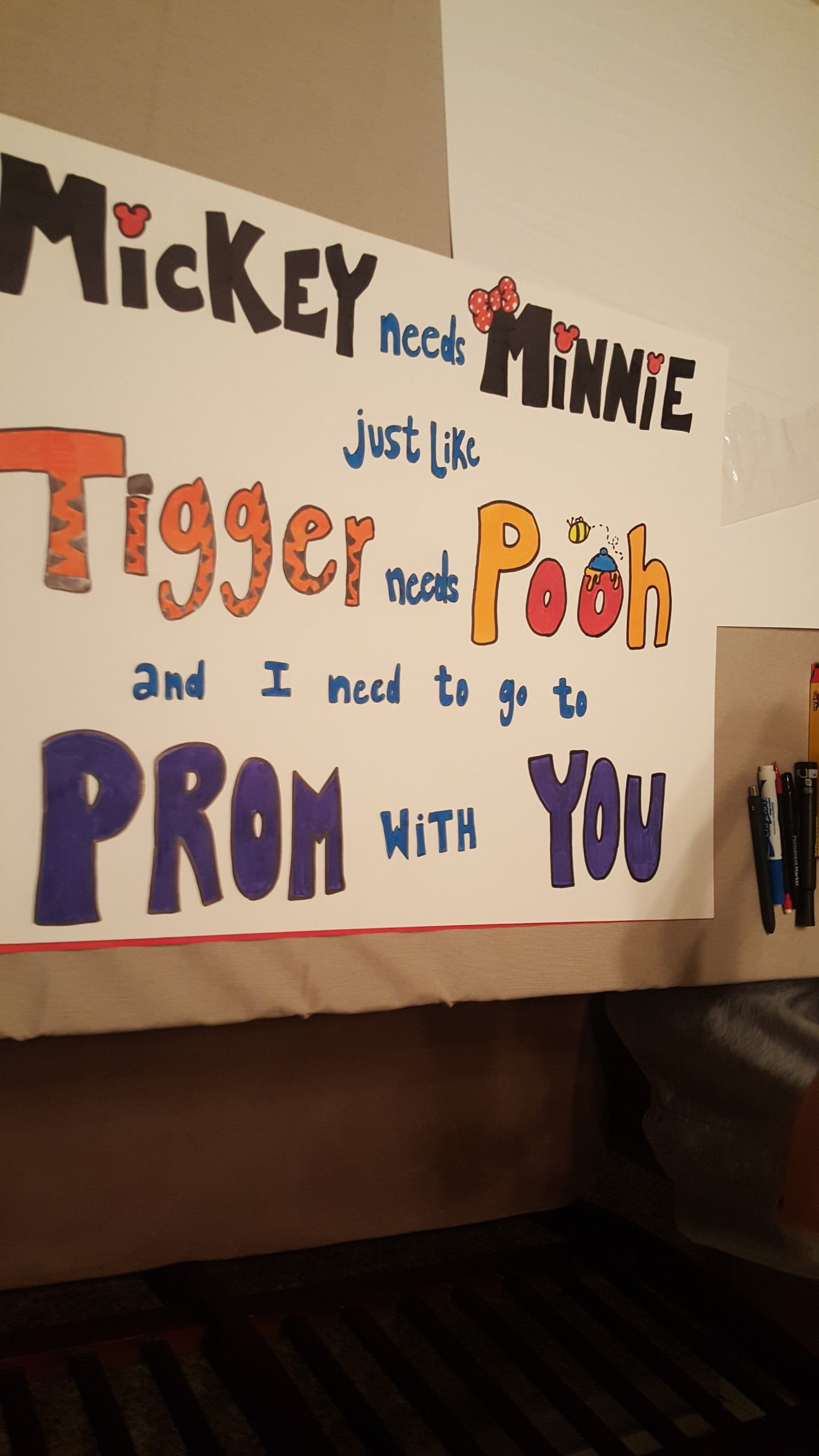 Asking A Girl To Prom Cute Huh Prom Proposal In 2019 Prom
