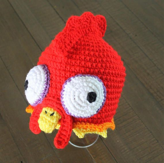 Hei Hei Chicken Hat Moana Inspired Handmade To Order Newborn
