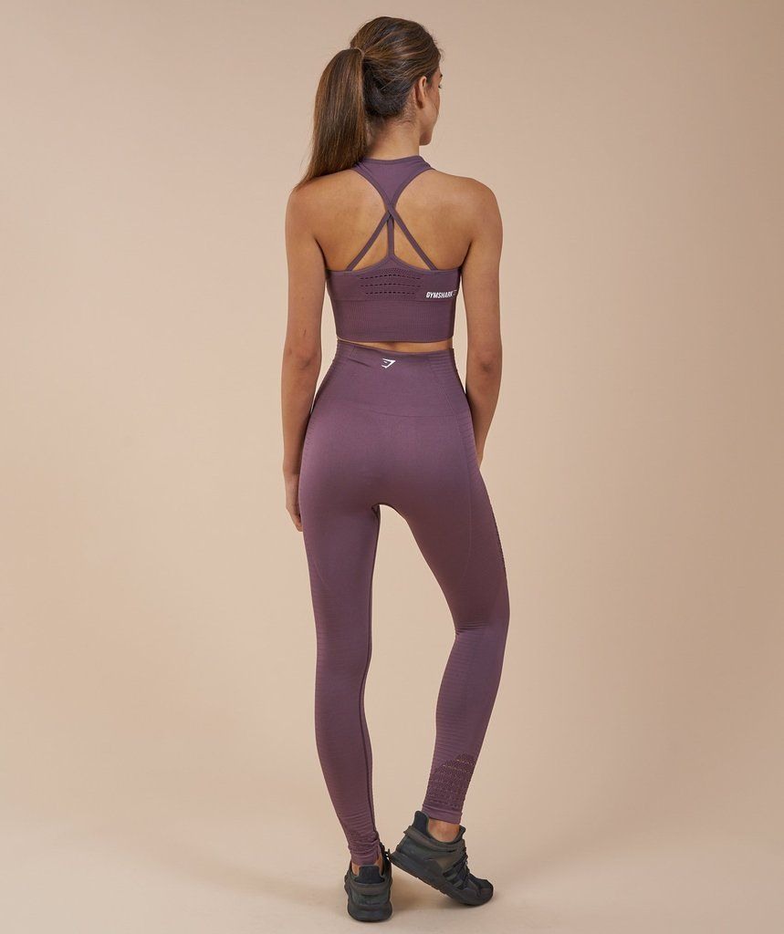 68603ab91ae61 Gymshark Seamless Energy High Waisted Leggings - Purple Wash | desir ...