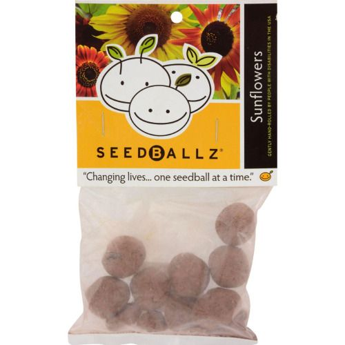Seedballz Sunflower - 8 Pack - http://ift.tt/1T4Lzb0