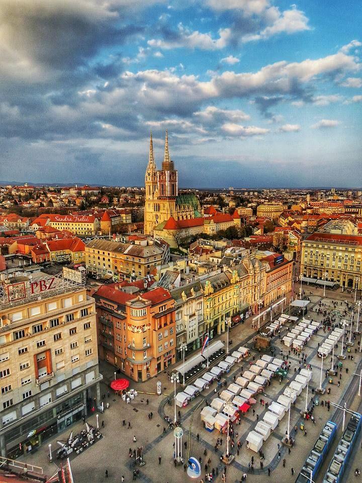 Air Transat Launch Only Direct Flight From Canada To Croatia Today Zagreb Zagreb Croatia Croatia