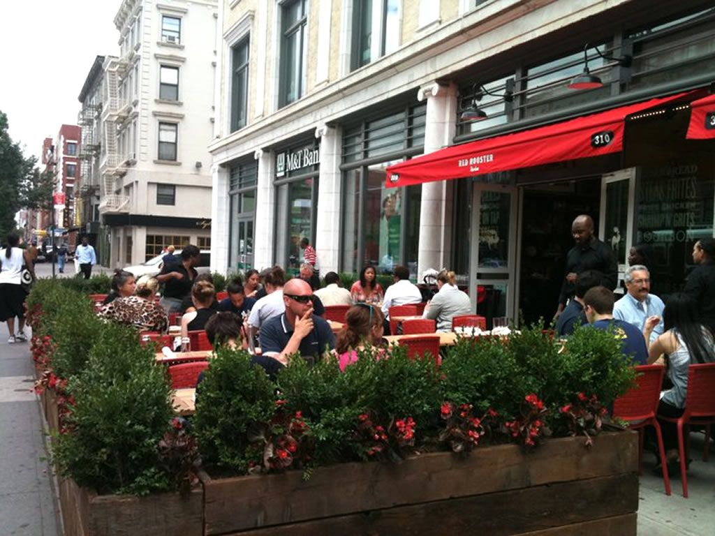 Restaurant Outdoor Dining Hospitality Design Of Red Rooster Harlem New York