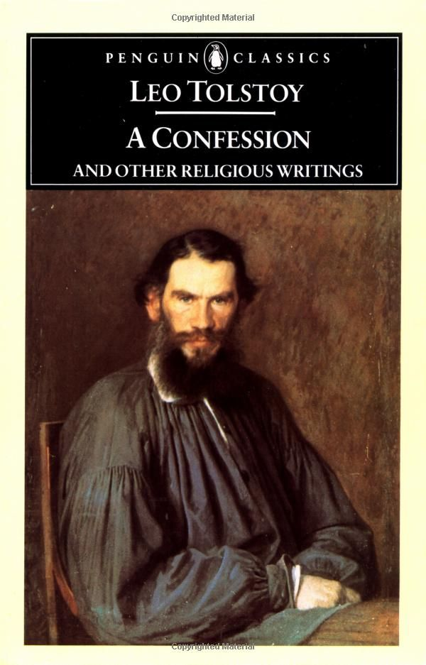 A Confession And Other Religious Writings Penguin Classics Leo