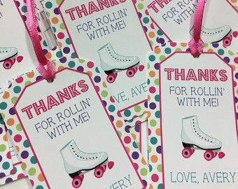 Free Roller Skating Birthday Party Invitations ~ Image result for roller skates party favors emy birthday