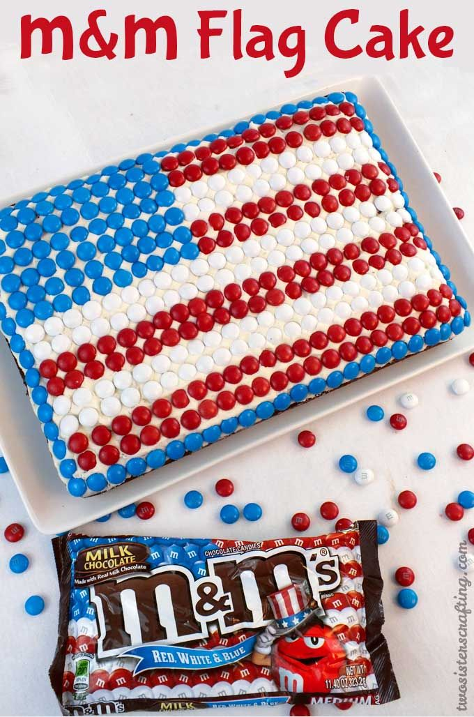 Red White And Blue Fourth Of July Poke Cake Recipe 4th Of