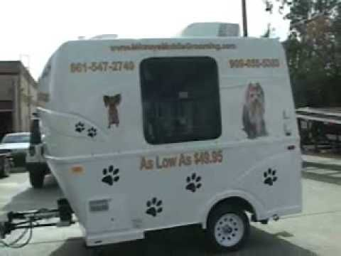 New Mobile Grooming Trailer For Sale Mobile Pet Grooming Dog Grooming Dog Grooming Salons
